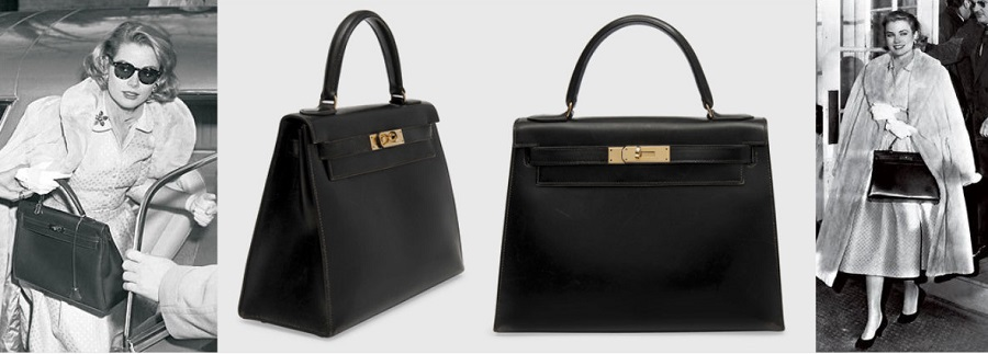 Hermes Kelly Bolso Bag Famoso por Grace Kelly